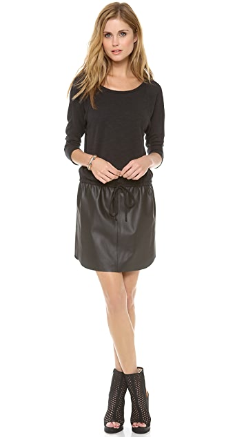 Velvet Verni Combo Drawstring Dress