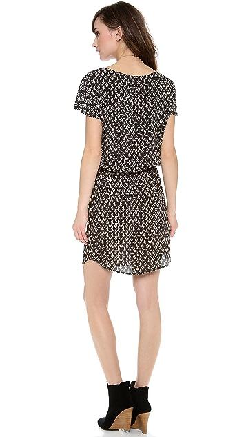 Velvet Drina India Challis Drawstring Dress