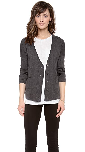 Velvet Sharday Cozy Heather Cardigan