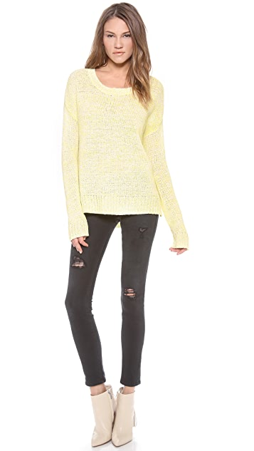 Velvet Carolyn Marled Sweater
