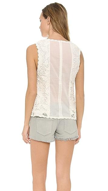 Velvet Shireen Crochet Lace Top