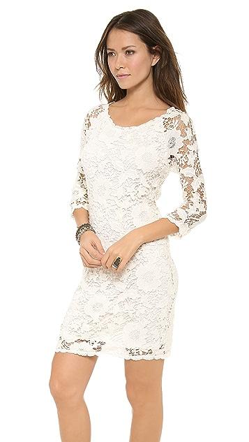 Velvet Leslea Crochet Lace Dress