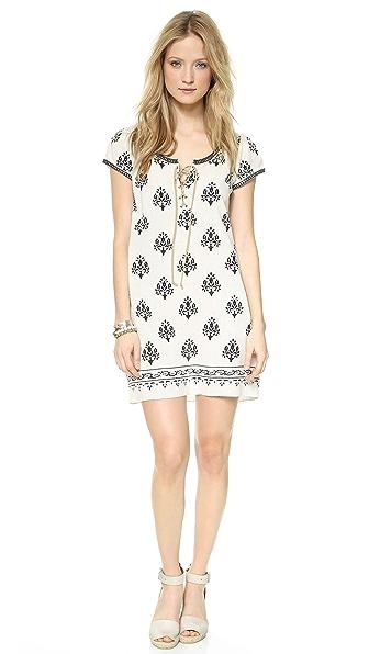 Velvet Merna Silk Tunic Dress