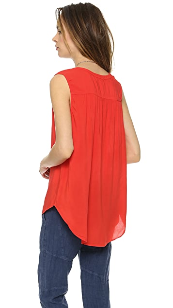Velvet Gemini Sleeveless Top