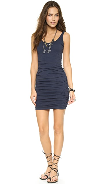 Velvet Tai Scoop Neck Dress