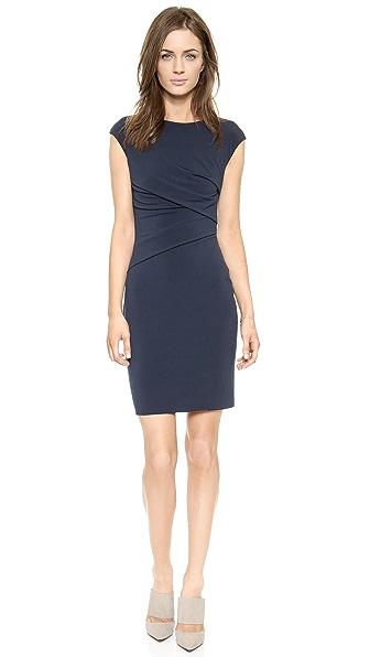 Velvet Taki Cap Sleeve Dress