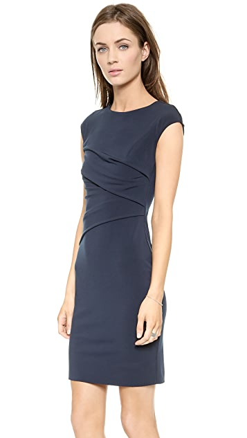Velvet Taki Cap Sleeve Dress