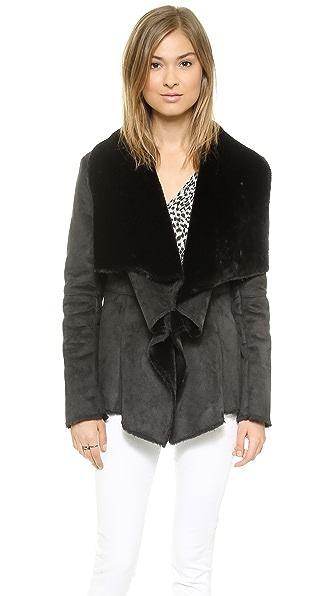 Velvet Sherpa Jacket