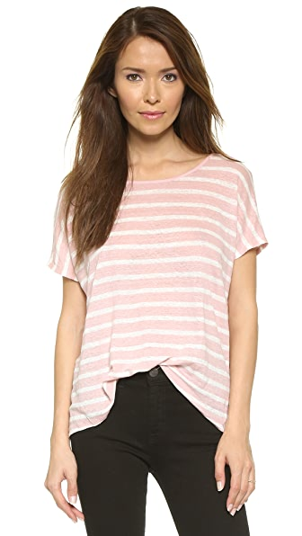Velvet Honor Stripe Tee