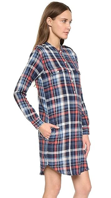 Velvet Gabrielle Plaid Dress