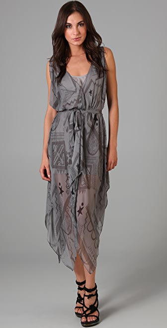 Vena Cava Aldo Hankerchief Dress