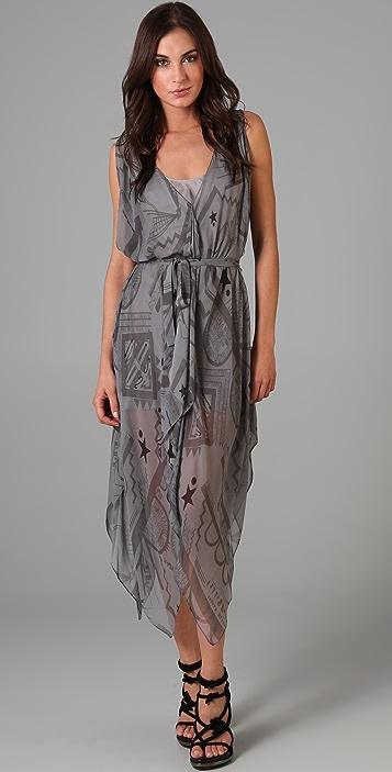 Vena Cava Aldo Hankerchief Dress