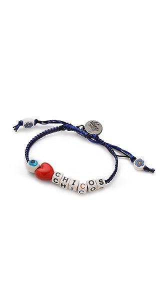 Venessa Arizaga Love Chicos Bracelet
