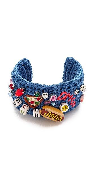Venessa Arizaga Takeout Cuff Bracelet