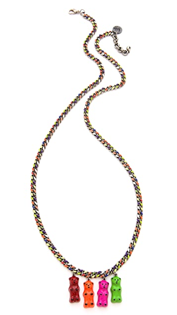 Venessa Arizaga Gummy Bear Necklace