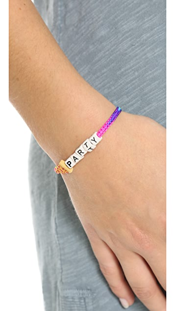 Venessa Arizaga Pizza Party Bracelet