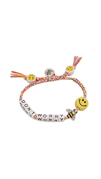 Venessa Arizaga Dont Worry Bee Happy Bracelet In Sunset Melange