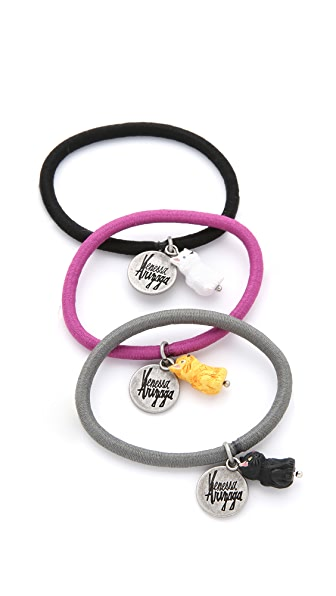 Venessa Arizaga Meow Hair Tie Set