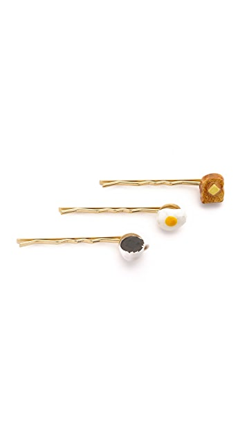 Venessa Arizaga Breakfest in Bed Bobby Pin Set