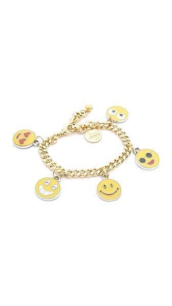Venessa Arizaga Emoji Bracelet