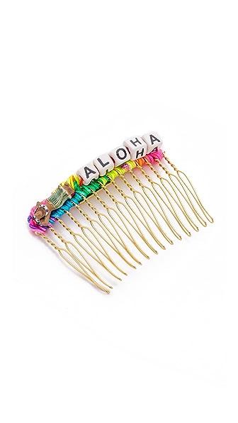 Venessa Arizaga Lady Aloha Hair Comb