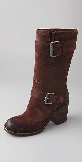 Vera Wang Cameron Suede Boots