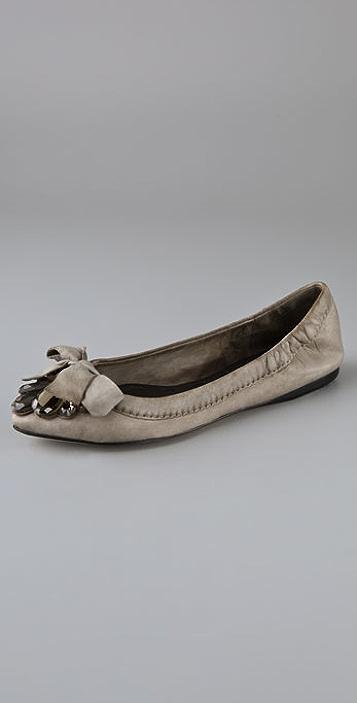 Vera Wang Gillian Jewel Flats