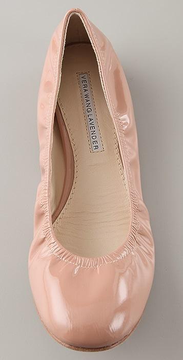 Vera Wang Lillian Patent Ballet Flats