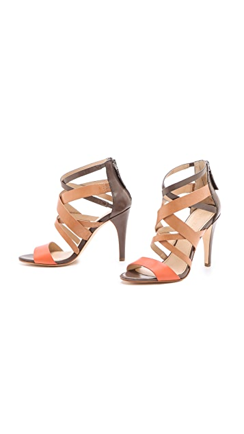 Vera Wang Hinda Strappy Sandals