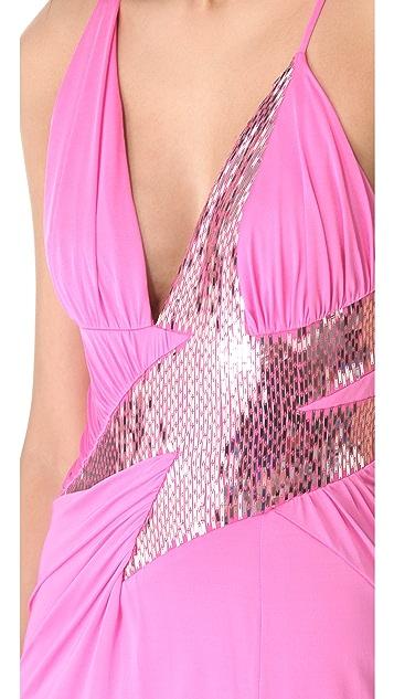 Versace Lightning Evening Dress