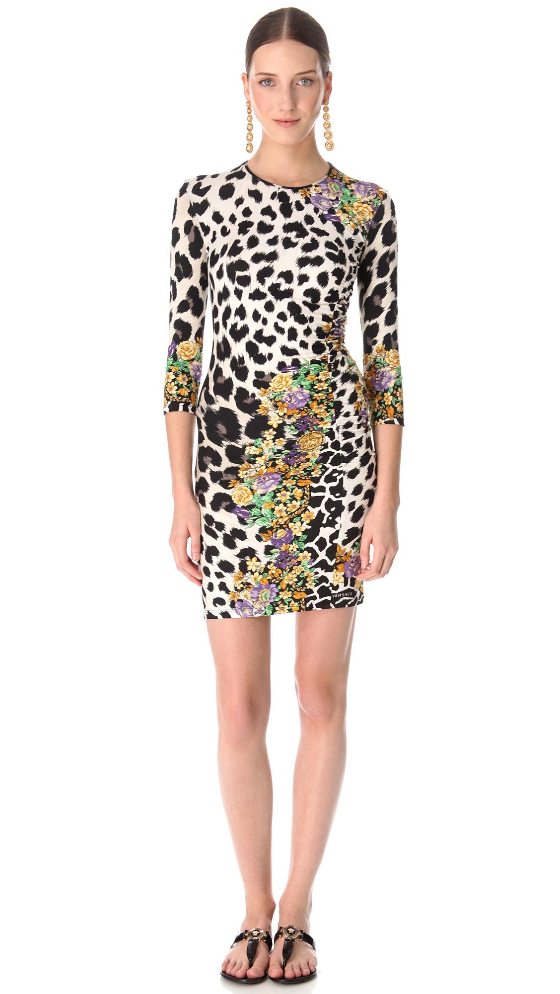 4507bab9261c Versace Animal Print Dress   SHOPBOP