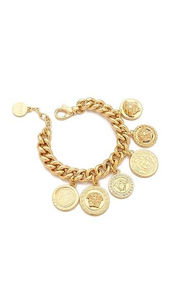 Versace Medusa Coin Bracelet