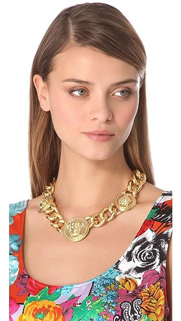 Versace Medusa Chain Necklace