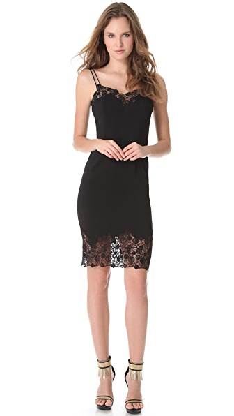 Versace Lace Edge Cocktail Dress