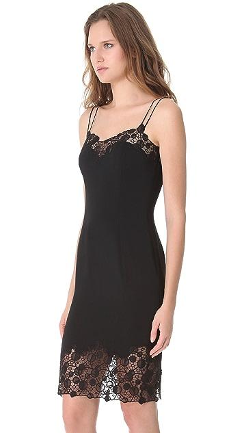 Versace Lace Edge Cocktail Dress