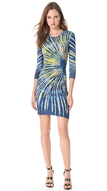 Versace Jersey Sunburst Dress