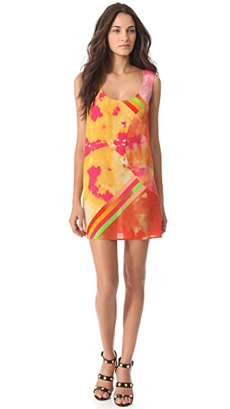 Versace Printed Tank Dress