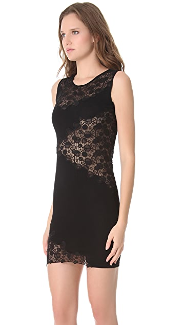 Versace Lace Cutout Sheath Dress