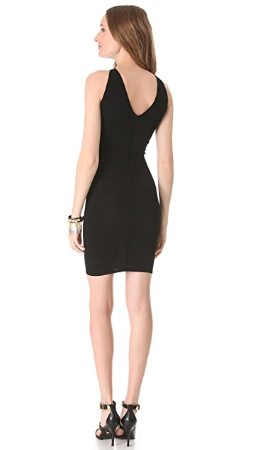 Versace Chain Fringe Sheath Dress