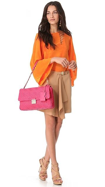 Versace Quilted Shoulder Bag