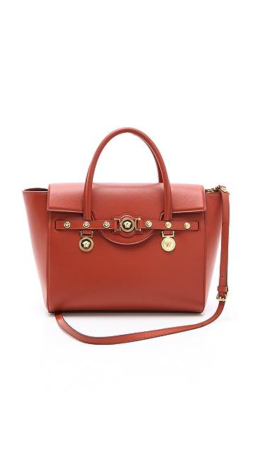 Versace Terracotta Handbag