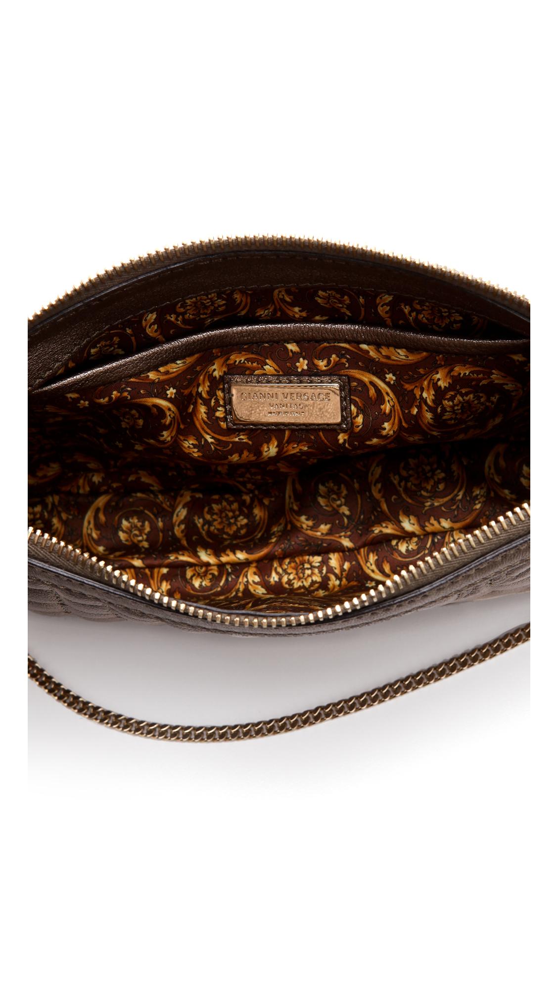 4cefdfced64d Versace Vanitas Quilted Handbag