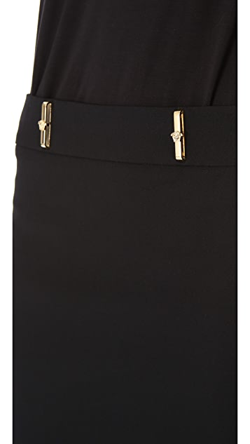 Versace Belt Loop Miniskirt