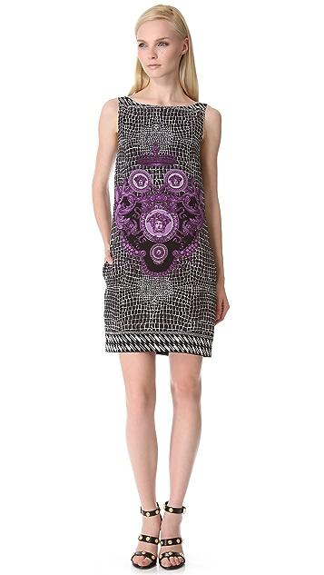 Versace Sleeveless Print Dress