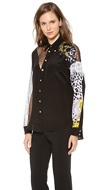 Versace Long Sleeve Top