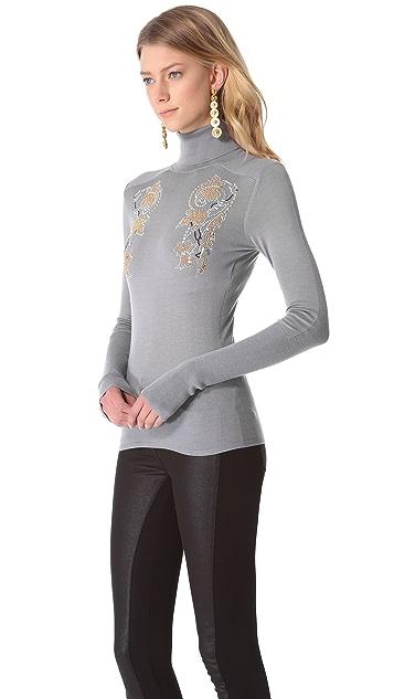 Versace Long Sleeve Sweater