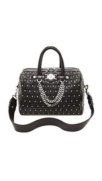 Versace Quilted Stud Chain Medusa Bag