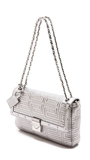 Versace Quilted Chain Shoulder Bag