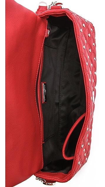 Versace Quilted Studded Medusa Bag