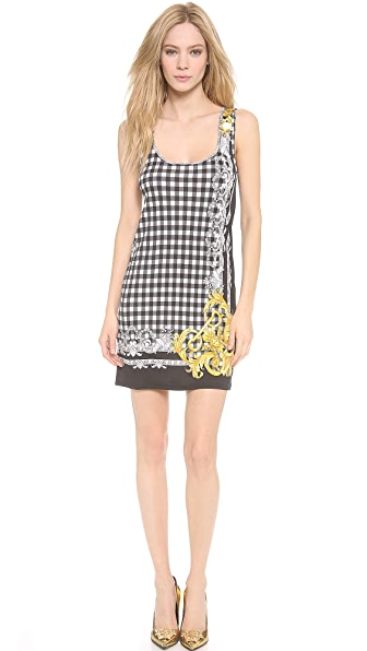 Versace Sleeveless Printed Dress